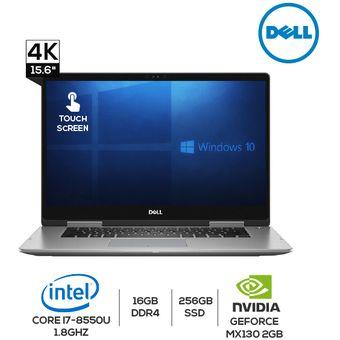 Laptop Dell INSPIRON 7573-7019BLK 2 EN 1 Intel Core i7 256GB 16GB RAM -  Windows 10