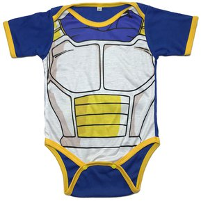 Bodie Body Mameluco Bebes Superheroes Vegeta Dragon Ball 8182c9fb5195