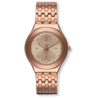 Oro Mujer Rosa Swatch Reloj Ygg103g OkXZiuPT