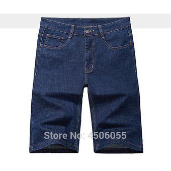 Pantalones Cortos De Mezclilla Para Hombre Pantalones Cortos De Verano De Cintura Alta Pantalones Vaqueros Holgados Para Hombre De Talla Grande 48 50 52 54 56 Pantalones Vaqueros De Bermudas Azul Linio Peru Un055fa16thwvlpe