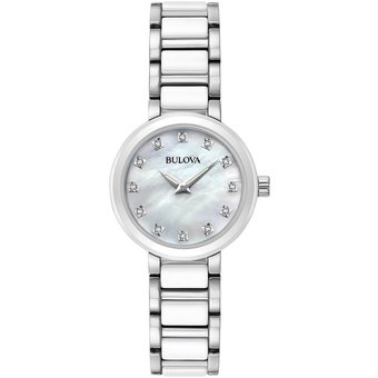 en venta 3d185 d40e2 Reloj Bulova Modern Ladies Collection 98P158 Para Dama-Plateado