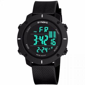 87f2df48a9af Compra Reloj SYNOKE Calendario Digital Hombres Relojes - Negro ...