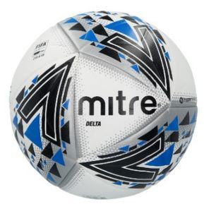 c3948ae6ba66c Balon Futbol Mitre Delta N°5 Blanco Negro Azul