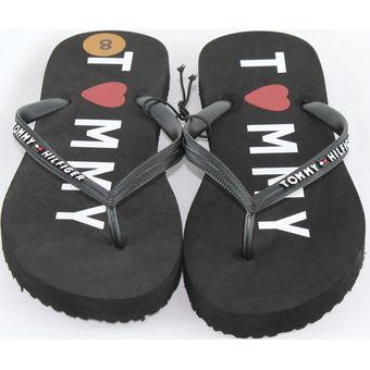 5bad8d81fc2 Compra Sandalia Para Dama Tommy Hilfiger Modelo Twdraki Negro online ...