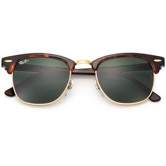 33edc8d355 Compra Gafas de Sol Ray Ban Clubmaster 3016 W0366 Carey - Verde 51mm ...