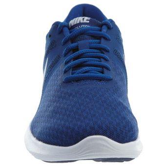 curva Fundir enfermedad  Tenis Running Hombre Nike Revolution 4-Azul con Blanco   Linio México -  NI055SP053JEPLMX