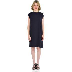 0b872b276 Vestido sin mangas tipo polera de Mujer Aishop AW172-1117-780 Azul Marino