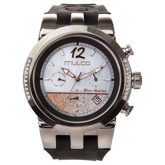 5172acb7e34b Compra Reloj Mulco Blue Marine Infinity MW5-4721-023 Para Dama-Negro ...