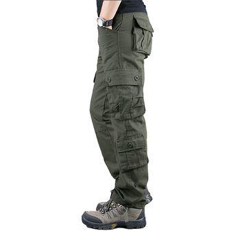 Pantalones Para Hombre Monos Informales Pantalones De Ocio Para Exteriores Para Hombre Pantalones De Trabajo Con Multiples Bolsillos Prendas De Vestir Pantalones Largos Talla Grande 44 Cui Army Green Linio Peru Ge582sp1dyylnlpe