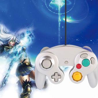 Compra EH Nintendo GameCube Wii Joystick Game Pad Controller-Plata ... 191d849709e0