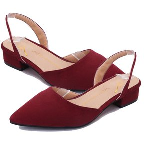5fc431019c Tip-toed Women Shoes Flat Heel Female Sandals Lady Casual Shoes Strappy  Shoes Wine Red