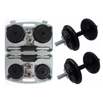 Compra Kit de Pesas Mancuernas 18 kg - Sportfitness online  b4c01db3debd