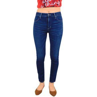 Compra Pantalon Mezclilla Breton Jeans Super Skinny Para Dama – Azul ... 406f55a3357b