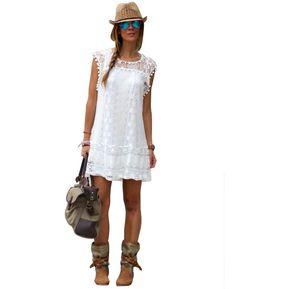 Vestidos blancos elegantes para senoras