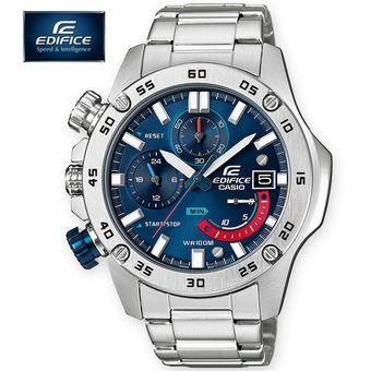 f164696360a8 Reloj Casio Edifice EFR-558D-2AV Con Numero de Serie Cronometro Fecha -  Plateado