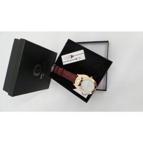 d4ec7f892ff3 Reloj Encendedor USB recargable Hombre Mujer redondo Marron - Dorado  Genérica