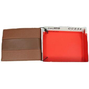 604728437df Compra Cartera Billetera De Hombre GUESS 100% Piel Geniuna Color ...