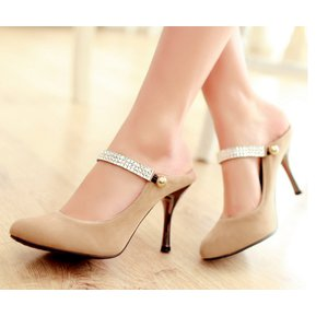 260998f425 Zapatos Sandalias De Tacón Tailun-cool Para Mujer- Caqui