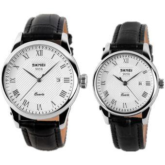 adc5540060d2 Agotado Reloj De Pulsera De Cuarzo Analógico De Acero Inoxidable Para Hombre  Classic Business Casual Impermeable SKMEI