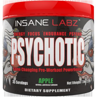 4e0b54919 Compra Pre entreno Psychotic de INSANE LABZ 205 gramos online ...