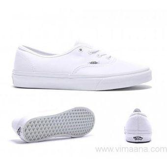 zapatos vans blancos para hombres
