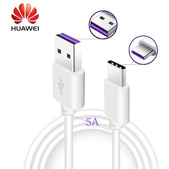 1400edefa8b Compra Cable Usb Tipo C Huawei 5A SuperCharge 100% Original - Color ...