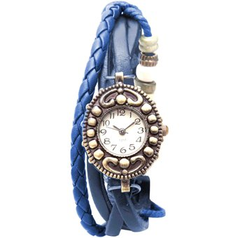 641e2b463f63 Compra Étnico - Reloj Brazalete Mujer - Azul online