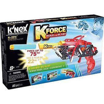Set De ConstrucciónLanza DardosKnexKforce-Rojo