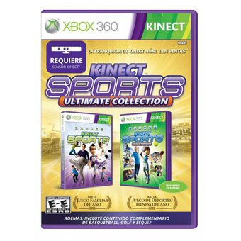 Compra Video Juego Xbox 360 Kinect Sports Ultimate Collection Online