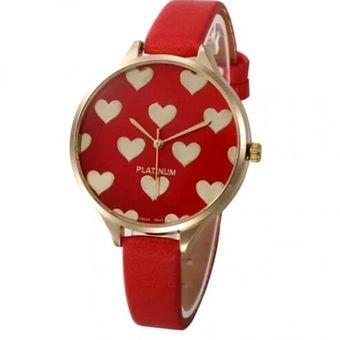 Compra Reloj Geneva Corazones Color Rojo Online Linio Colombia