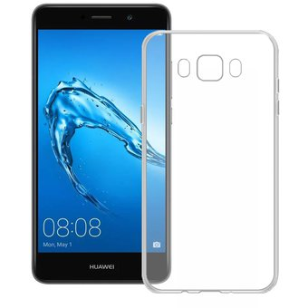 0456307eae7 Funda Para Huawei Gw Metal / Y7 Prime Silicon TPU - Transparente