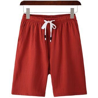 Pantalones Cortos De Algodon 100 Para Hombre Pantalones Cortos Comodos De Estilo Cargo Para Playa Pantalones Cortos Deportivos Prendas De Vestir Para Hombre 5xl Red Linio Peru Un055fa0xj0xvlpe