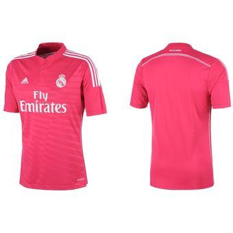 Jersey Adidas Visitante Rosa Del Real Madrid 977e44b727643