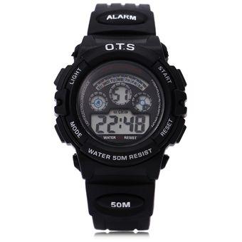 d8523c45a164 OTS 833 Niños Multifunción LED Reloj Digital Resistencia Al Agua Reloj  Deportivo Para Niña