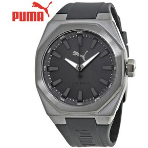 Reloj Puma Octa PU104051003 Acero Inoxidable Correa De Silicona - Gunmetal  Negro 38d9e84b590e
