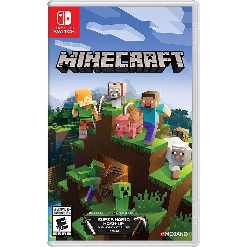 Minecraft Nintendo Switch + Contenido Adicional