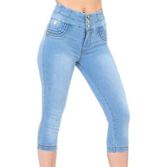 Pantalon Corto Fergino Jeans Mujer Bleach Mezclilla Stretch 806 Salv Sodexo Mexico Sa570fa1fpzkflmx