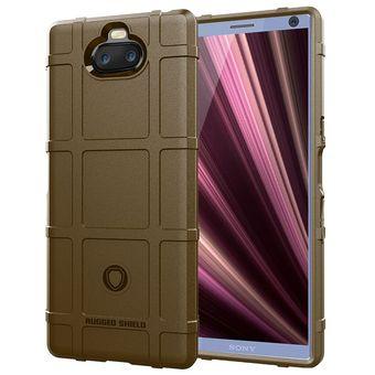 5808e9cbe11 Compra Funda de silicona para Sony Xperia 10 TPU - Marrón online ...