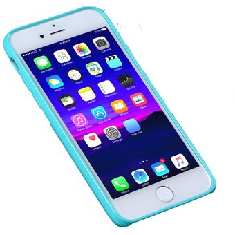 Protector Funda Silicona Rigida iPhone 6 6s Plus Colores
