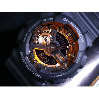 e5ef7393f1 Reloj Casio G-Shock GA-110RG-1A Analógico Digital Hombre - Negro ...