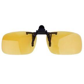 La Conducción De Visión Nocturna Lente Plegable Cool Eyewear Encajar Lente  Anti UV 400 Amarillo Night 2eb341babe6c