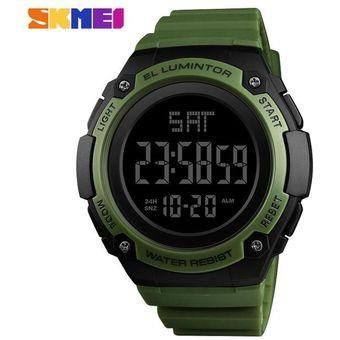 153cd4e3a712 Compra Cuenta Atrás Reloj Deportivo Hombre LED Electrónico Digital ...