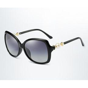 790edcaadc Nuevas Damas Polarizaron Las Gafas De Sol Clásicas-negro