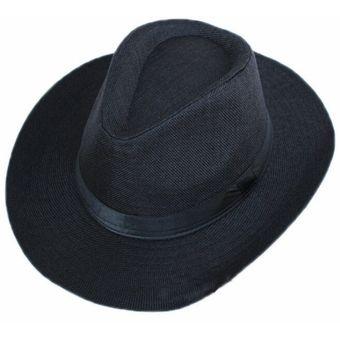 Compra Sombrero De Sol Con Lazo Negro De Playa online  aa191b53cd3