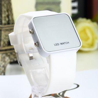 993b5a6716e8 Compra Eh Espejo Digital LED Reloj De Pulsera De Silicona Banda ...