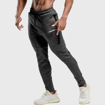 Pantalones Deportivos Para Gimnasio Pantalones Ajustados Deporte Pantalones De Chandal Para Hombre Pantalones Deportivos Para Fitness Ropa Deportiva De Primavera Para Hombre Pantalones Deportivos De Algodon Para Correr Dark Grey Linio Peru