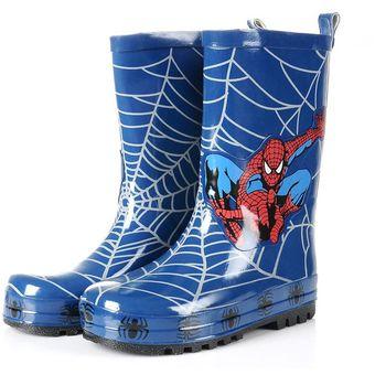 31b5f8c769e Botas De Lluvia Niño Y Niñas Invierno Spiderman Zapatos Para Niños Botas De  Lluvia Niños Agua