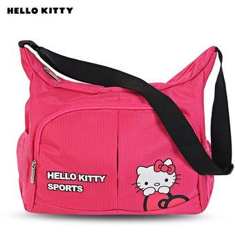 4bf6a2405 Bolso Lindo Del Hombro Del Estilo De Hello Kitty Bolsos Duros Del Deporte