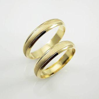7d59b0d37700 Argollas Matrimonio Compromiso Allianz Oro El Señor De Los Anillos ADa134