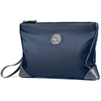 15ede8086c9 Compra Bolso de mano casual pequeño de lona Oxford para hombre-Azul ...